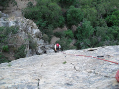 Rock Climbing Photo: Jug, Lee, jug! From our aid adventures on Meadow M...