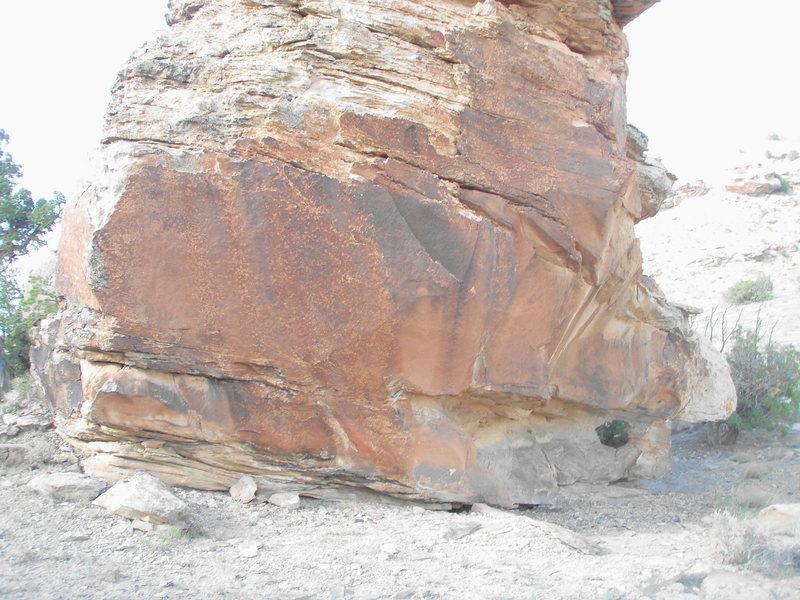 Rock Climbing Photo: The Harvest Boulder.