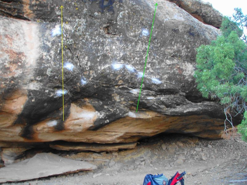 Rock Climbing Photo: The Abyss Boulder.
