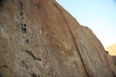 Rock Climbing Photo: Morning Glory wall