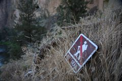 Rock Climbing Photo: no trail