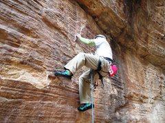Rock Climbing Photo: great sandstone