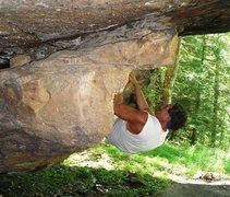 Rock Climbing Photo: bouldering at RRG