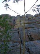 Rock Climbing Photo: Jogging to Vedauwoo.