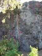 Rock Climbing Photo: cliff drive main wall, center