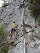 Rock Climbing Photo: Limestone everywhere (and thus routes everywhere) ...