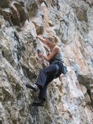 Rock Climbing Photo: Fortunately for us all, the climbing is much bette...