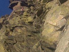 Rock Climbing Photo: Nearing the top!