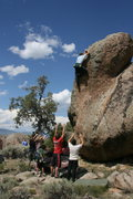 Rock Climbing Photo: Another classic highball.