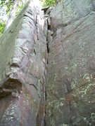 Rock Climbing Photo: Another 5.6 inside corner located on the lower eas...
