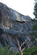 Rock Climbing Photo: A closer shot of Free and Easy 5.6 and shows a cle...