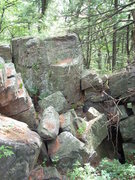 Rock Climbing Photo: Is this Boomtown? I found it about 3/4 mile SE of ...