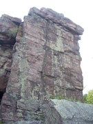 Rock Climbing Photo: A closer view of this tower.