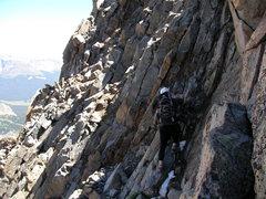 Rock Climbing Photo: Mt. Wilson east face