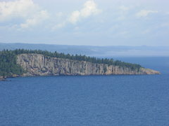 Rock Climbing Photo: Shovel Point.