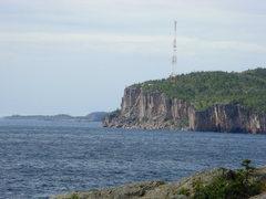 Rock Climbing Photo: The Head from Shovel Point.