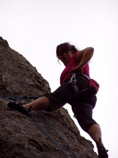 Climbing in the Needles of South Dakota.. Custer State Park