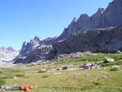 Rock Climbing Photo: Titcomb Basin.