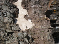 Rock Climbing Photo: The mountain goats seemed to pretty much follow th...