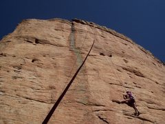 Rock Climbing Photo: Andrology, The Fin.
