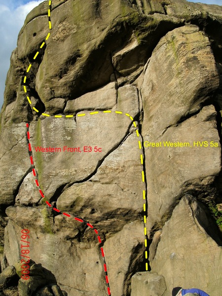 Great Western and Western Front, Two classic climbs