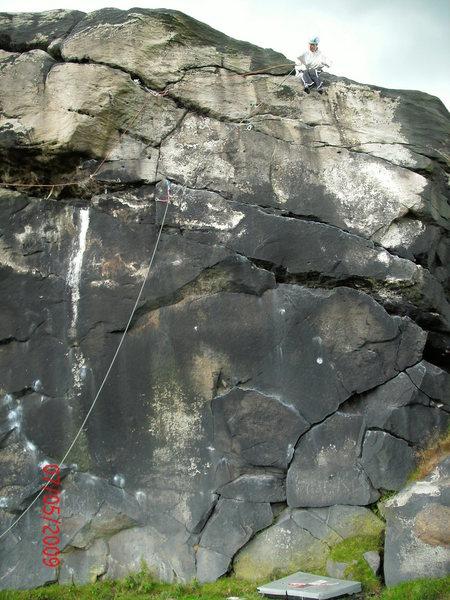 Rock Climbing Photo: Black Wall,