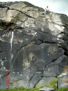 Rock Climbing Photo: Black Wall,