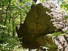 Rock Climbing Photo: Backside.