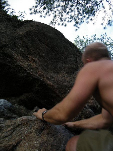 Rock Climbing Photo: It's a long way up.