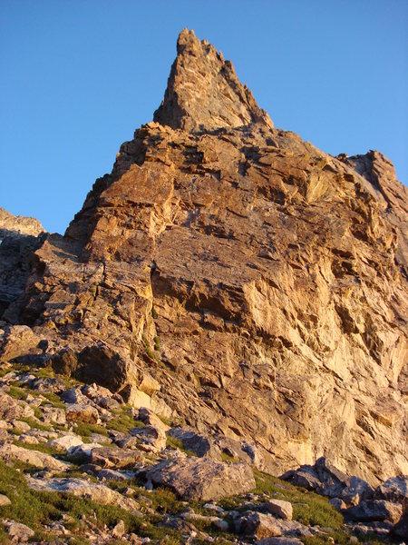 View of the South Ridge. Photo Greg Dooley.