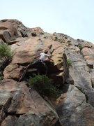 Rock Climbing Photo: Cheyne on Greenhorn