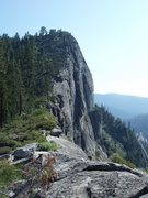 Rock Climbing Photo: Profile of Traveler Buttress/Main Wall
