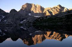 Rock Climbing Photo: reflections in Deep Lake