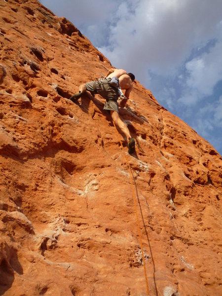 Rock Climbing Photo: Super fun huecos! Photo: Roth