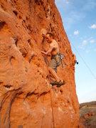 Rock Climbing Photo: Enjoyable even at 100 degrees! Photo: Roth