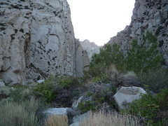 Rock Climbing Photo: Pratt's crack and the canyon,