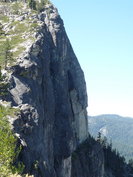 Rock Climbing Photo: Traveler's Buttress.
