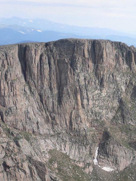 Rock Climbing Photo: View of the flying buttress.