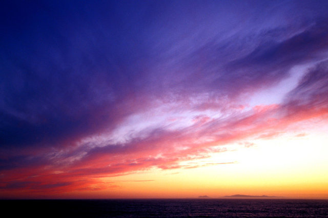 My all-time favorite sunset shot from Point Mugu.  Anacapa and Santa Cruz Islands are both visible.