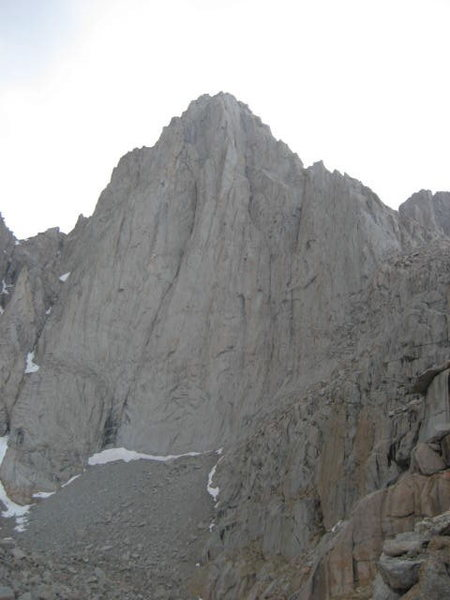 Mt. Whitney view of the East Face