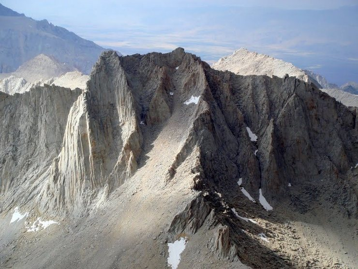 Rock Climbing Photo: Mt. Russell from the summit of Whitney