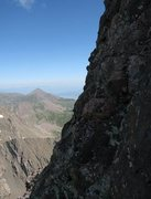 Rock Climbing Photo: The steepness at the crux.