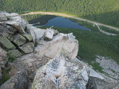 Rock Climbing Photo: The view from the final belay.