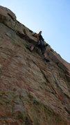 Rock Climbing Photo: Pitch 2