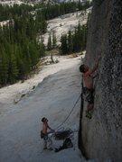 Rock Climbing Photo: Bottom moves on Orange Plasma