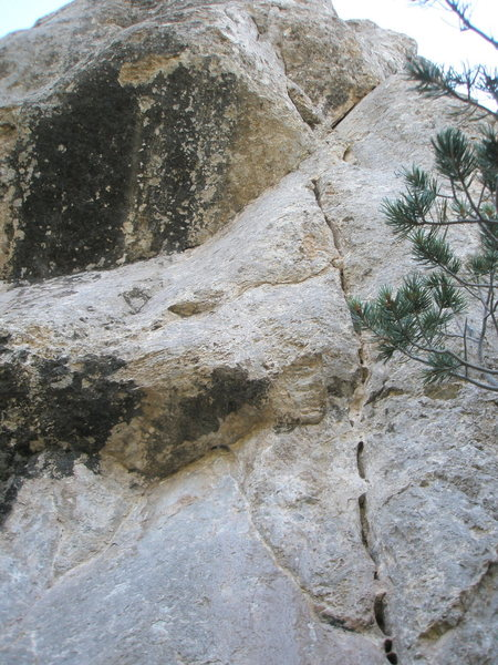 Rock Climbing Photo: This is the beginning of Gunslinger but you'll fig...