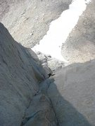 Rock Climbing Photo: Amazing corner climbing on p4 of sunspot.
