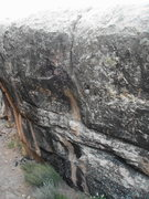 Rock Climbing Photo: Here's the line....