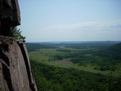 Rock Climbing Photo: The Vulture Lookout. The quarry is directly below ...