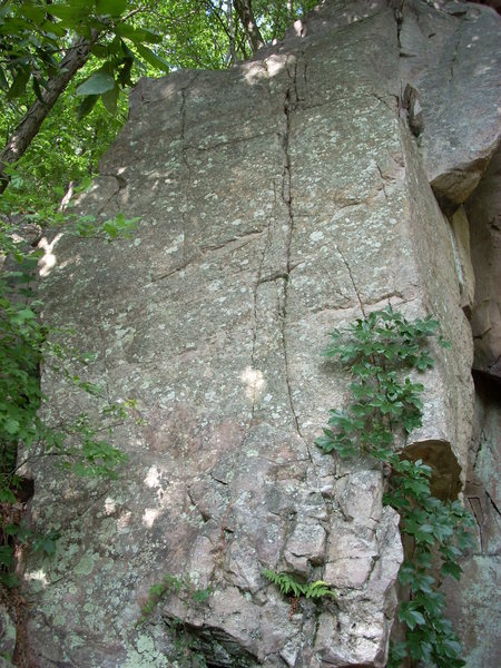 """This face near the corner on the west end of West Post is """"The Post"""" 5.8"""